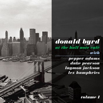 Donald Byrd - At The Half Note Cafe, Vol. 1
